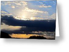 Winter Skyscape Greeting Card