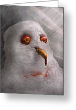 Winter - Snowman - What Are You Looking At Greeting Card