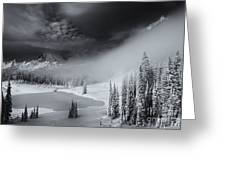 Winter Storm Clears Greeting Card