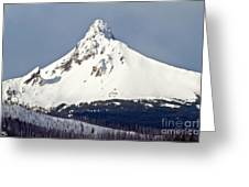 Winter Storm Over Mt. Washington Greeting Card