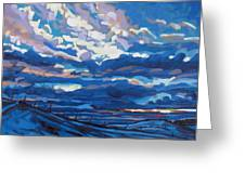 Winter Stratocumulus Greeting Card