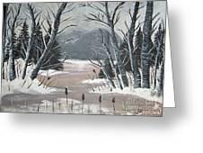 Winter Thaw Greeting Card