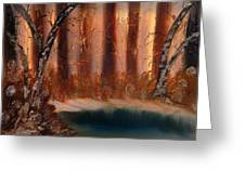 Winter Thaw Greeting Card