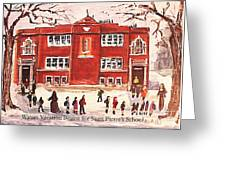 Winter Vacation Begins For Saint Pierre's School Greeting Card