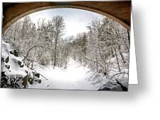 Winter Welcome Greeting Card