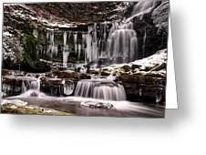 Winter Wonders At Scaleber Force Greeting Card