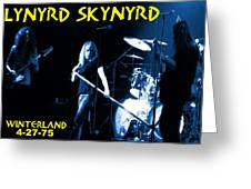 Winterland 4-27-75 Greeting Card