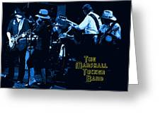 Winterland Blues With The Marshall Tucker Band 1976 Greeting Card