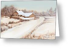 Winterness Greeting Card by Michelle Wiarda