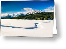 Winters Calm Greeting Card