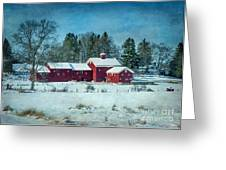 Winter's Colors Greeting Card