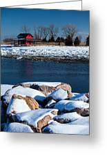 Winters Cove Greeting Card