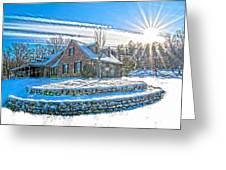 Winters Day Photoart 6 Greeting Card