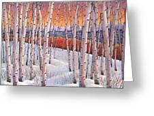 Winter's Dream Greeting Card