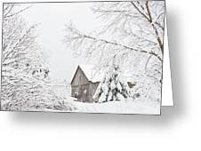 Winter's End Greeting Card