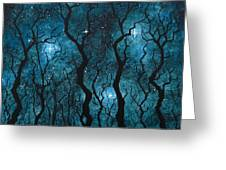 Winter's Night Greeting Card