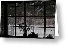 Winters Reflection Greeting Card