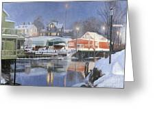 Winters Rest Greeting Card