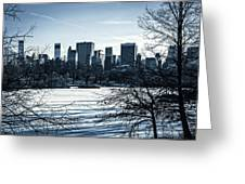 Winter's Touch - Manhattan Greeting Card