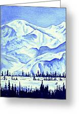 Winter's White Blanket Greeting Card