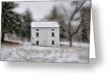 Wintertime In Valley Forge Greeting Card by Bill Cannon