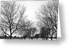 Windy Road Greeting Card
