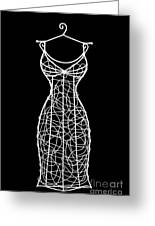 Wire Mannequin Greeting Card