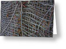 Wire Mesh Greeting Card
