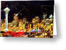 Wired Seattle Greeting Card