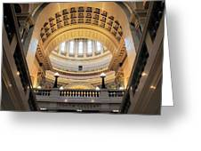 Wisconsin Architecture Greeting Card