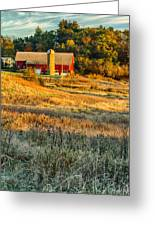 Wisconsin - Country Morning Greeting Card