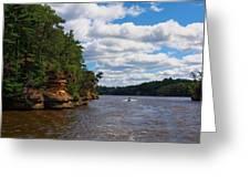 Wisconsin Dells Jetski Greeting Card