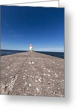 Wisconsin Point Lighthouse 6 B Greeting Card