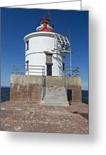 Wisconsin Point Lighthouse 6 F Greeting Card
