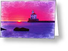 Wisconsin Point Lighthouse Greeting Card