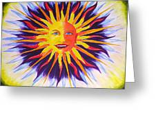 Wisdom Sun Greeting Card
