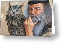 Wise Guys Greeting Card