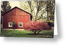 Wise Old Barn Summertime Greeting Card