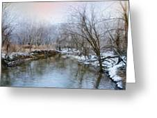 Wish I Had A River Greeting Card