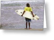 Wishin Waves Greeting Card