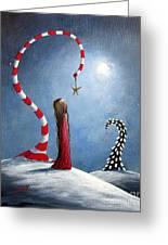 Wishing Star By Shawna Erback Greeting Card