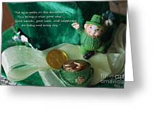 Wishing You A Happy St. Patricks Day Greeting Card
