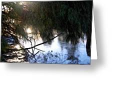 Wishkah River Greeting Card