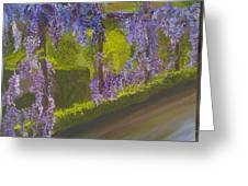 Wistera Greeting Card