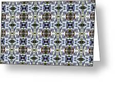 Wisteria  Flower Pattern Greeting Card