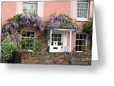 Wisteria House Greeting Card