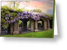 Wisteria In May Greeting Card
