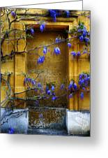 Wisteria Wall Greeting Card