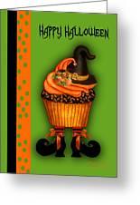 Witch Cupcake 3  Greeting Card