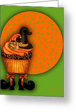 Witch Cupcake 5 Greeting Card